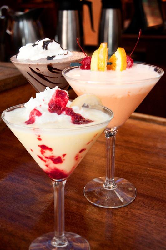 Ice Cream Martinis at The Fountain on Locust