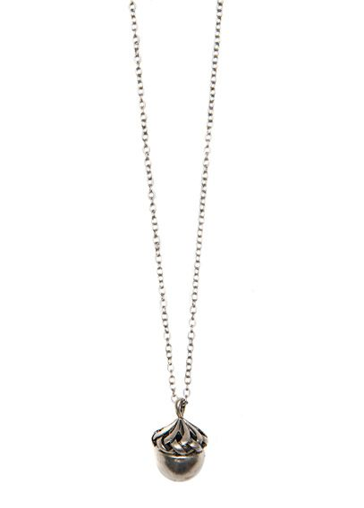 LONG ACORN NECKLACE		EUR2.99	  REF. 63637041 - PLUMA C