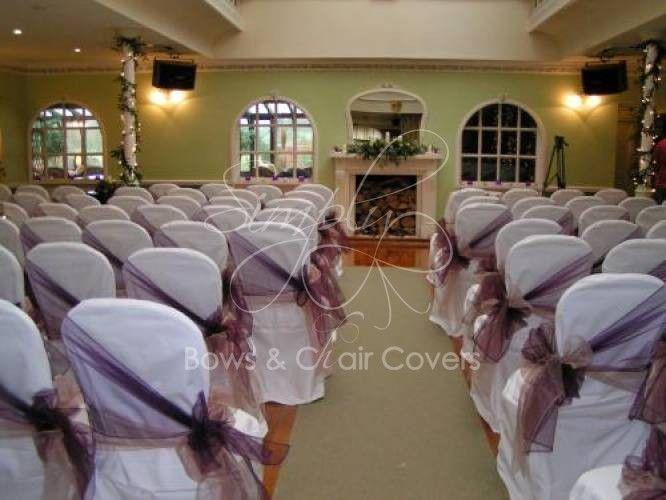 Wedding Chair Covers Design Ideas Organza Bows Hire Simply Bows