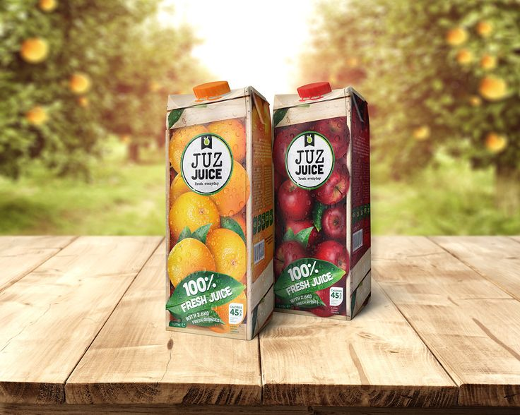 Juz Juice (Concept) on Packaging of the World - Creative Package Design Gallery