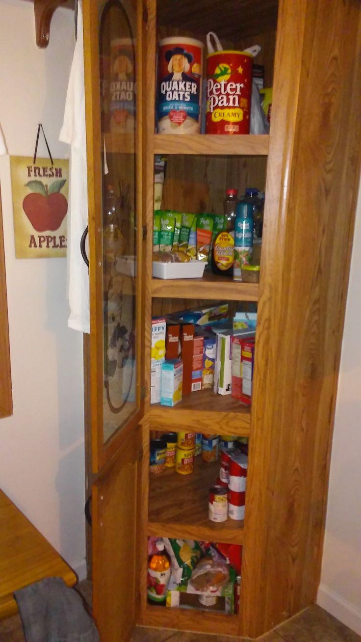 Kitchen Floor Plans Corner Pantry