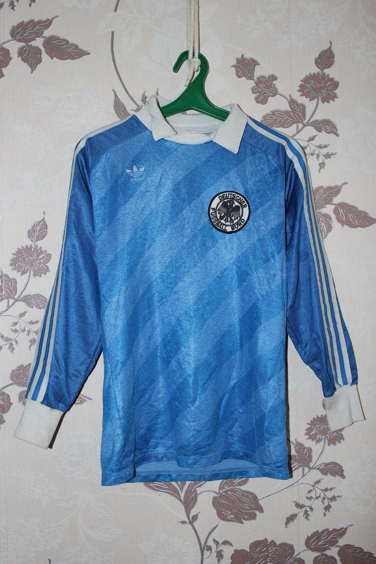 Adidas Shirt Size XS-S Trikot Deutschland Vintage GK rare Germany Trefoil | eBay
