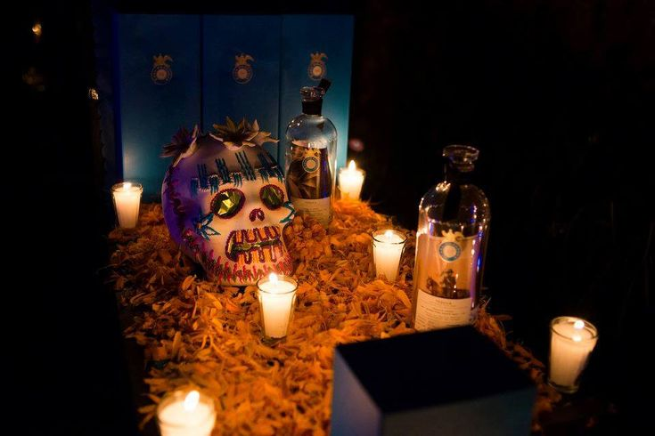 Host your Halloween party Dia de Muertos style with marigolds, sugar skulls, and of course, the world's best sipping tequila.