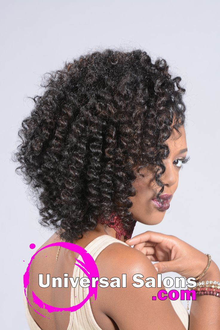 This is an excellent example of contemporary black hairstyles for women. This look was created by Durham NC cosmetologist Kenya Young. Kenya is the owner of Young, Sassy & Unique Hair Salon which is one of the most prestigious and professional black hair salons in the area.