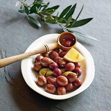 Frische Oliven einlegen (Grundrezept)