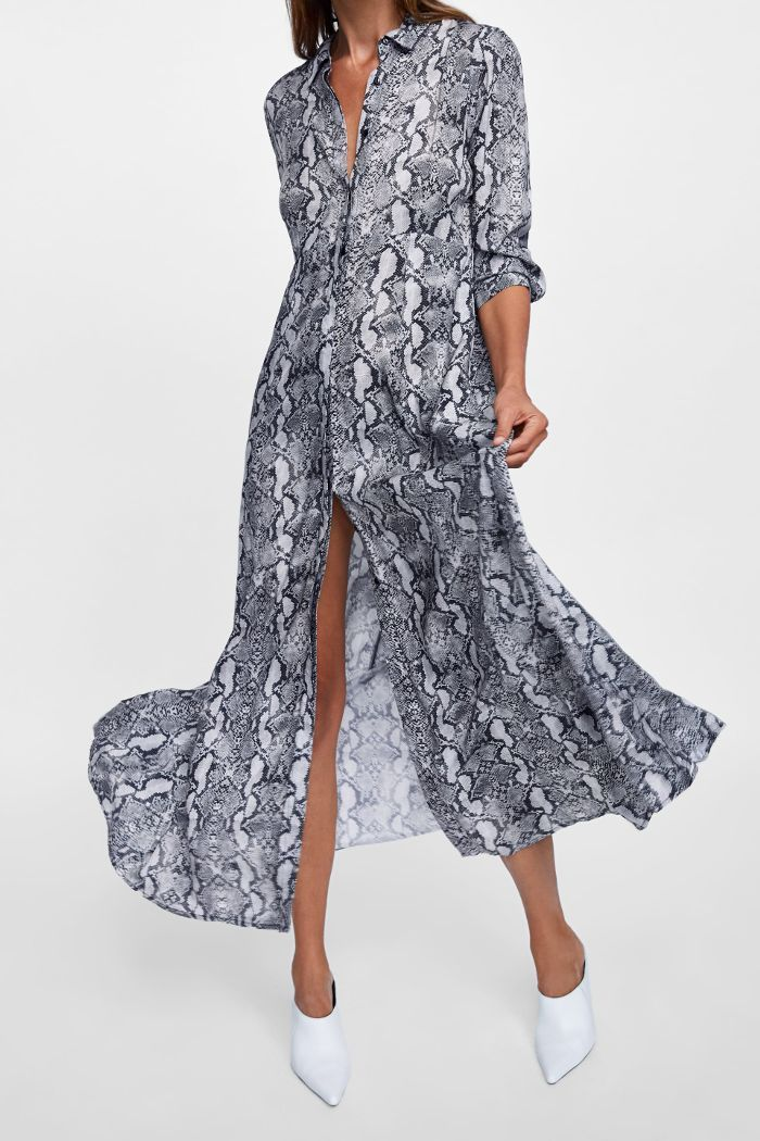 33 Dresses You'd Never Guess Were Under $100 | Snake print maxi ...