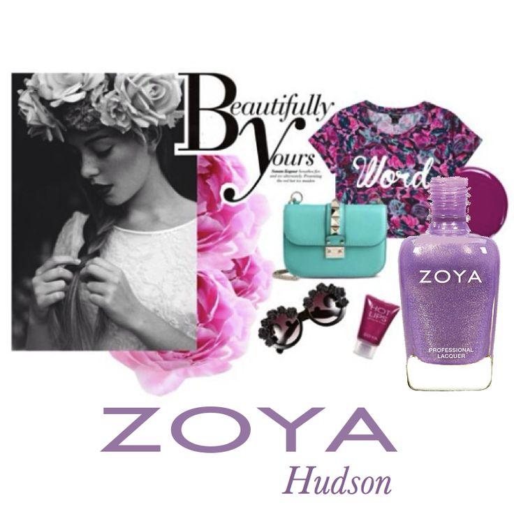 Zoya Awaken Hudson #zoyaoje #tırnak #nail #fashion #nailcolors #nailart #moda #shoes #bags #dress #zoyaturkiye #jewerly #kadın #style #jacket #skirt #bag #küpe #ayakkabı #elbise #style #blogger #makeup #trend #kombin #earring #ring #necklace #sunglasses