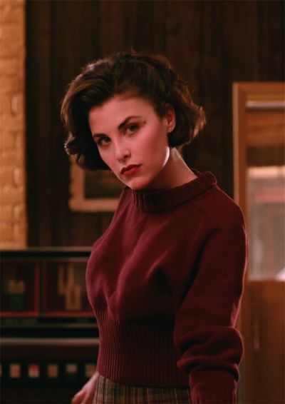 Audrey Horne in Twin Peaks. She is my everything goals.