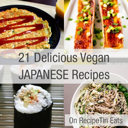 RecipeTin Eats | 21 Delicious Vegan Japanese Recipes Get more latest recipes at http://epicurerecipe.com/