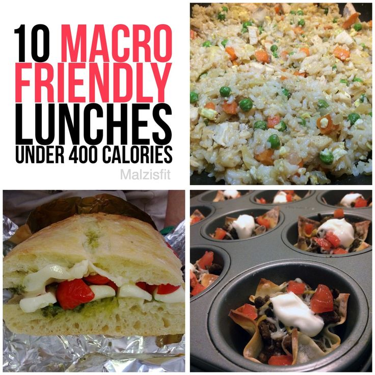 10 macro friendly lunches                                                       …