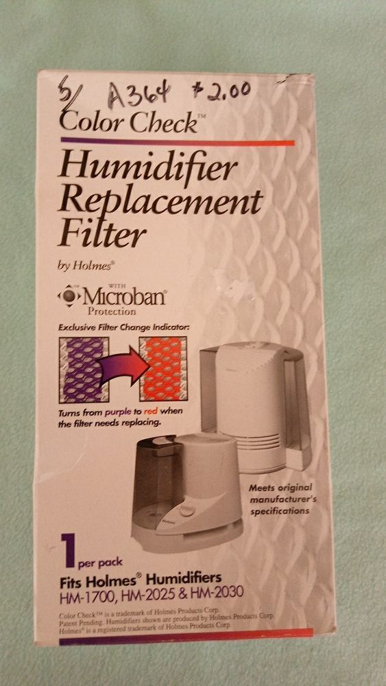 NEW HOLMES HUMIDIFIER REPLACEMENT FILTER MICROBAN HM-1700 HM-2025 HM-2030 HF212 #AIRFILTERFACTORYREPLACEMENTHOLMES