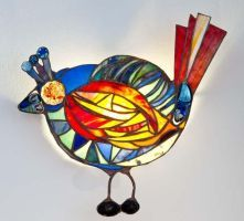 Unique Tiffany Style Lamps - Perdita's Glass Art, Corfu (Agios Stefanos)
