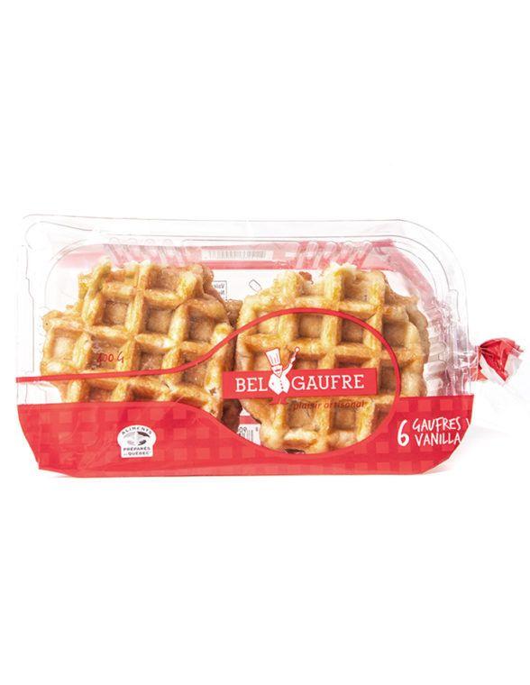 Bel Gaufre Classic Vanilla Belgian Waffles