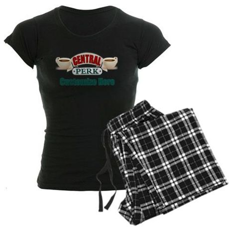 Get your personalized #CentralPerk #Friends (TV Show) merchandise like this comfy set of pajamas