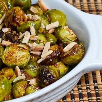 Maple Dijon Roasted Brussels Sprouts Recipe - ZipList
