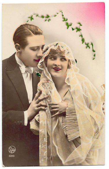 Wedding Postcard C
