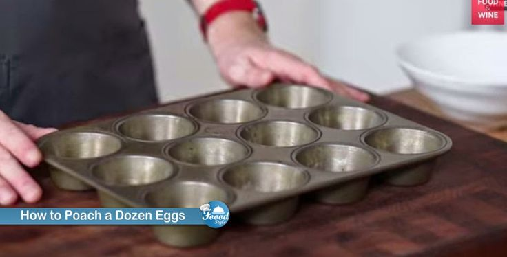 How to Poach a Dozen Eggs