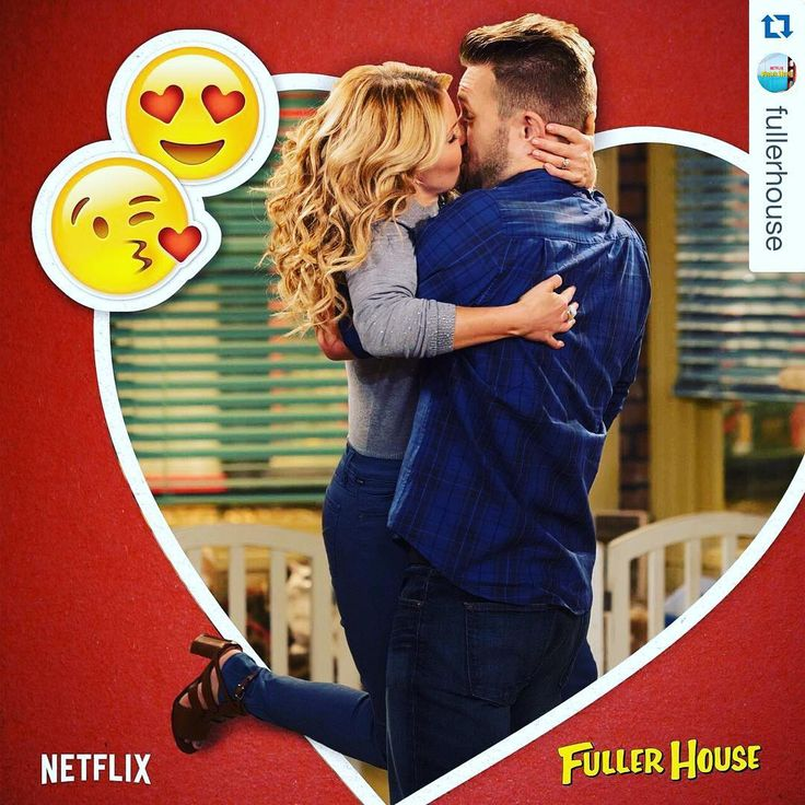 "Candace Cameron Bure on Instagram: ""Whose team are you on? #Repost @fullerhouse @thejohnbrotherton ・・・ DJ and Matt, sitting in a tree... #FullerHouse #TeamMatt"""