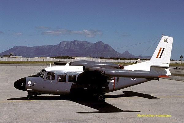 Piaggio P166 Albatross - South African Air Force Museum. First flight of P166S was in October 1968,& South Africa's order of 20 began arriving in 1969.Powered by 2 Piaggio-Lycoming GSO-480-B1C6 six cylinder engines of 254kw. Albatross had max speed of 357km/h & range of 1930km.