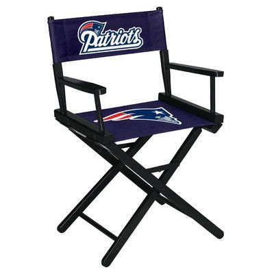 Imperial NFL Table Height Director Chair NFL Team: New England Patriots
