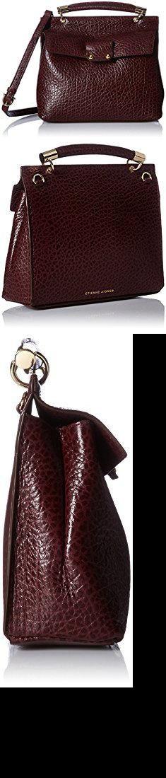 Aigner Bags. Etienne Aigner Althea Small Satchel Handbag, Cordovan 601.  #aigner #bags #aignerbags