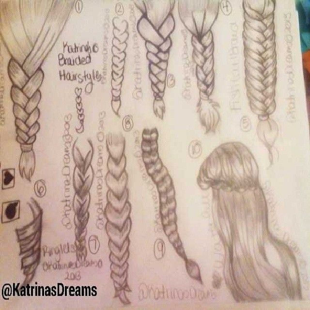 Best Hair Images On Pinterest Draw Hair Drawing Tutorials - Barbie hair style drawing