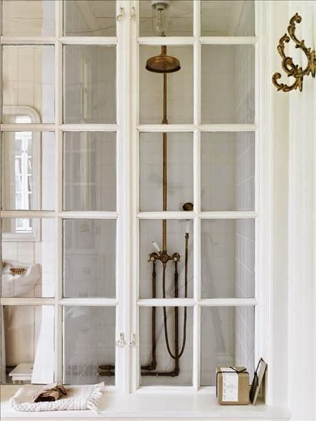 16 best brocante blog badkamers images on pinterest room live and vintage bathrooms - Badkamer mansard ...