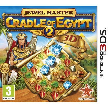Jewel Master Cradle of Egypt 2 Game 3DS Please Note 3DS titles are not compatible with standard Nintendo DS consoles Welcome to the land of the Pyramids and temples the cradle of civilisation! Recreate a millennia-old civilisation with the  http://www.MightGet.com/january-2017-13/jewel-master-cradle-of-egypt-2-game-3ds.asp