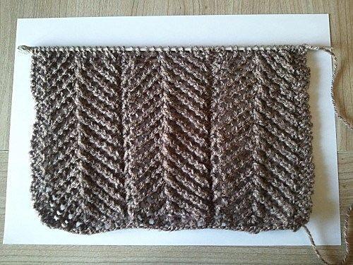 Tricoter Le Point De Treillis Cr 233 Ations Tricots