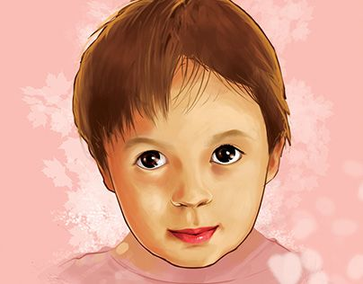 "Check out new work on my @Behance portfolio: ""Little Girl Portrait"" http://be.net/gallery/46495611/Little-Girl-Portrait"