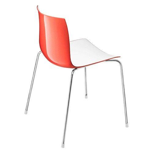 Catifa 46 Two Tone 4-Leg Chair