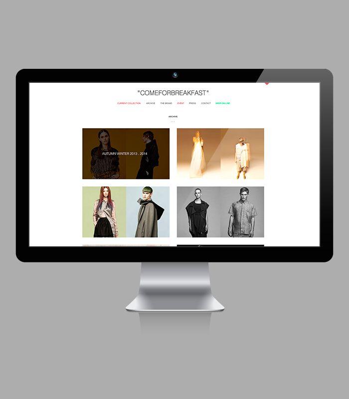 """comeforbreakfast"" / Web Design 2014 DESIGN BY HOUKART www.houkart.com #Design #Houkart #Web #Comeforbreakfast"