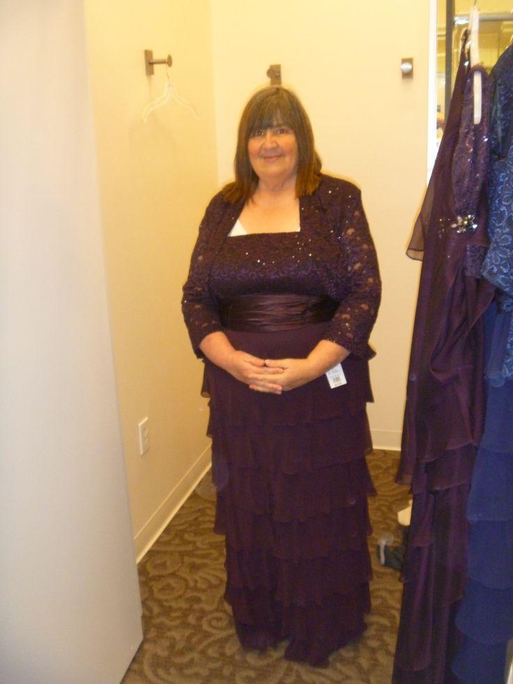 Mommy's 1st dress trial. So pretty!