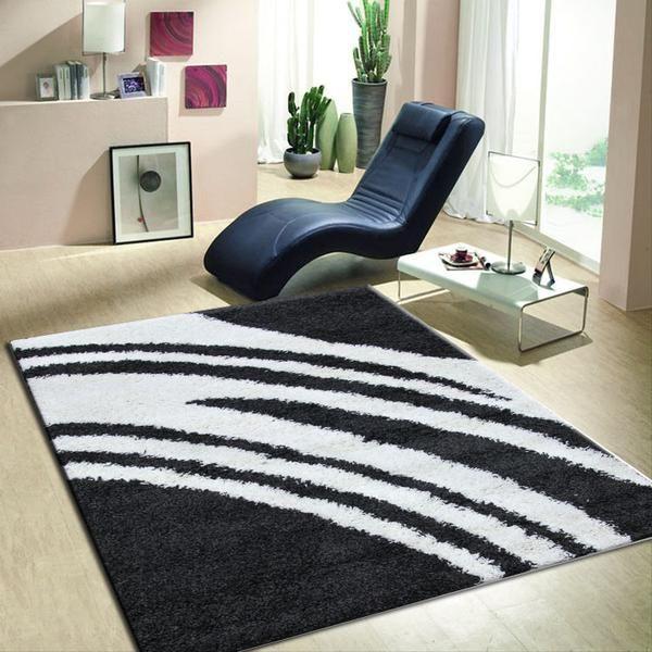 Modern Shag Rugs Strokes Carpets Shaggy Mats Designs