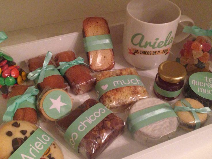 Desayuno personalizado desayunos personalizados pinterest - Regalar desayuno a domicilio madrid ...