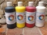 We love this VOC-free, non-toxic, eco friendly, acrylic kids paints from Nature of Art for Kids. These paints are on sale for $16.99 for 5 4oz bottles. They also sell recycled crayons and lots of other great eco-friendly art supplies.