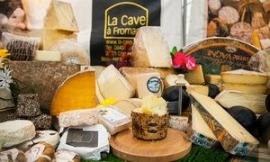 Groupon - The Cheese & Wine Festival: Two Tickets (£12.50) or Family Ticket (£18) at Business Design Centre, Islington in Islington, London. Groupon deal price: £12.50