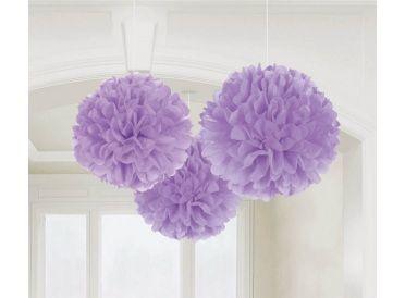 Lilac Purple Fluffy Decorations | Whish.ca