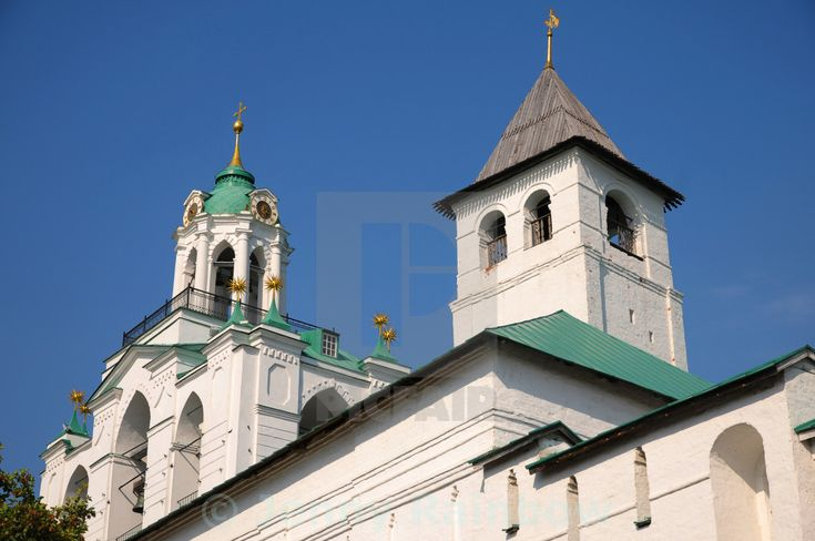 """Towers of Spassky Monastery in Yaroslavl. Russia"" by Jenny Rainbow - £10"