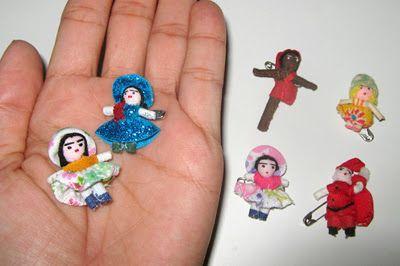 História e Cenários Nordestinos: Bonequinhas da sorte de Gravatá PE