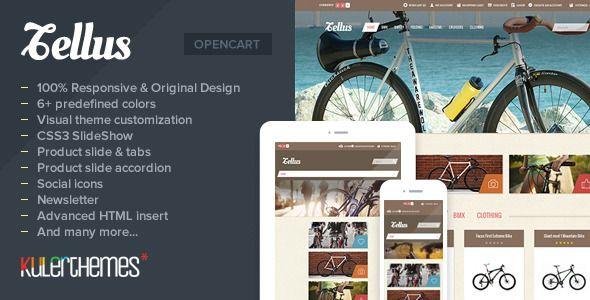 Tellus - Responsive OpenCart theme for bike store (OpenCart) Download - PROFIREFOX