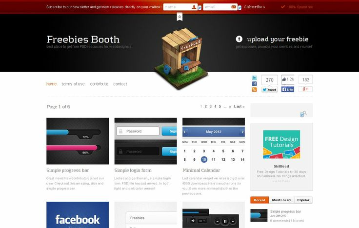 Freebies Booth By @Team Mango Media Private Limited Via http://www.themangomedia.com/blog/10-best-web-design-resources-for-enhancing-your-design-stuffs/