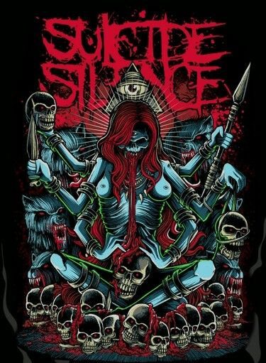 17 best images about suicide silence on pinterest logos mitch lucker and my chemical romance. Black Bedroom Furniture Sets. Home Design Ideas
