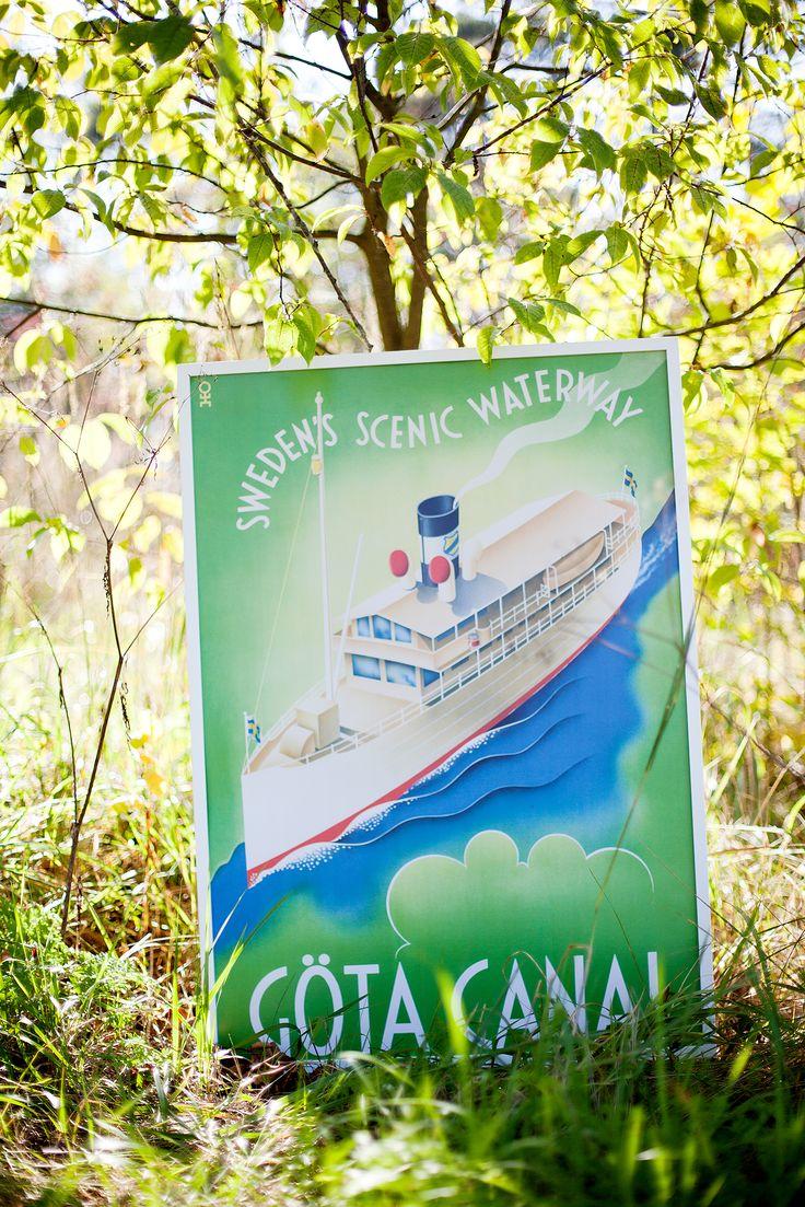 Göta Canal - Sweden Scenic Waterway