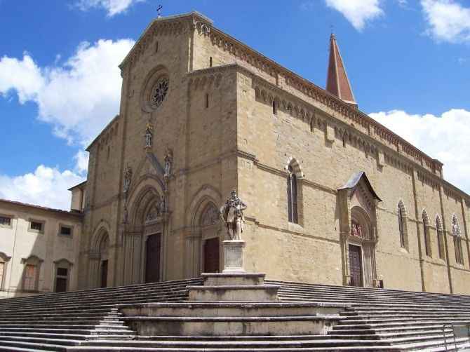 Arezzo, Montevarchi Tratto dal Film 'La Vita è Bella'