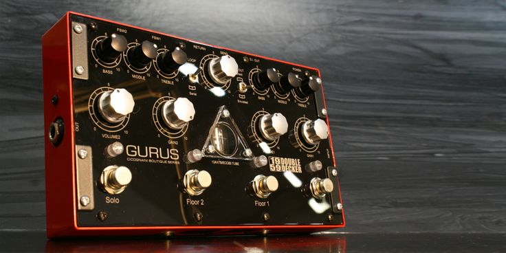 "Gurus 1959 Double Decker, here You have sounds rich in details, harmonics and an organic sound with tons of dynamics: a real ""in-your-face"" tone."