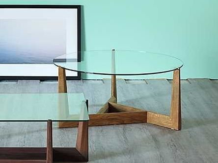 GAUDO Table basse ronde by Miniforms design Carlo Contin