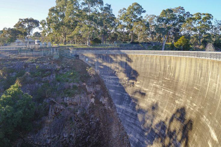 Barossa Reservoir's Whispering Wall -