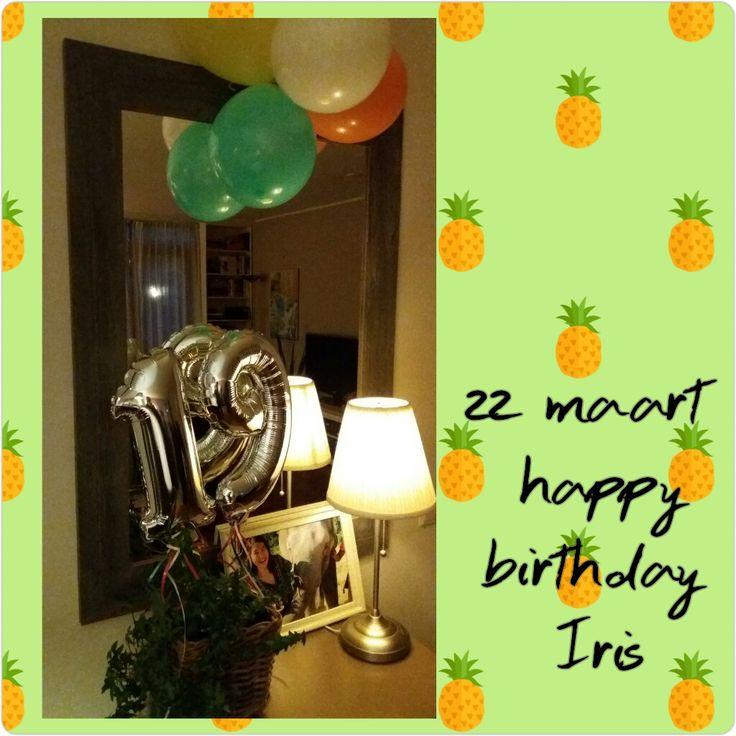 22-3 ~ thuis op haar 19e verjaardag 🎂😘