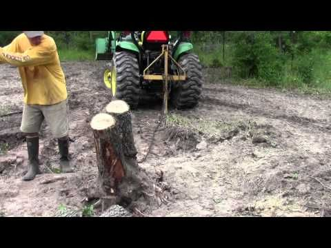 Exciting Vehicle | John Deere Tractor Tree Take Down